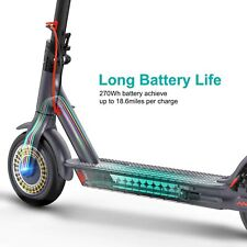 """350W Motor Electric Scooter 15.6 Mph 18.6 Miles 8.5"""" Non-Pneumatic for Adult"""