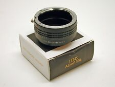 NIKON F MOUNT TO NIKON N1 LENS BODY ADAPTER..MINTY IN BOX