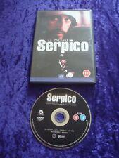 DVD.SERPICO.AL PACINO.CLASSIC THRILLER.SIDNEY LUMET.CRIME COP.UK REGION 2 DVD.