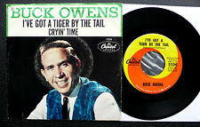 "7"" Buck Owens - I've Got A Tiger By The Tail - US Capitol w/ Pic"