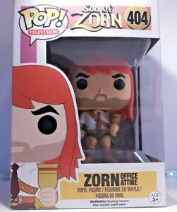 Funko Pop Vinyl Son of Zorn #404 Zorn Office Attire New In Box