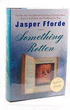 Signed First Edition Jasper Fforde - Something Rotten Viking Penguin Hardcover