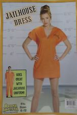 Rasta Imposta JailHouse Orange Dress Fits Sz 6-12 NIP