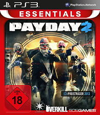 PS3 / Sony Playstation 3 Spiel - Payday 2 (mit OVP)