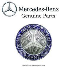 Mercedes w124 w201 Grill Badge Emblem GENUINE oem Insignia Star Laurel Logo
