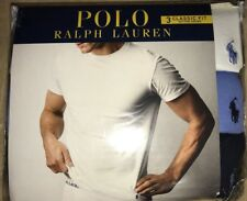 Polo Ralph Lauren 3-Pack Classic Fit Tees Navy/whisp/white Size: XL NWT