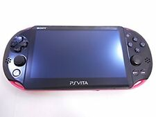 SONY PlayStation Vita Pink Black PCH-2000 ZA15 PSVita Used Console Only