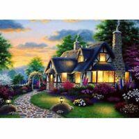 5D Diamond Painting DIY Embroidery Cross Stitch Art Craft Landscape Drill Decor