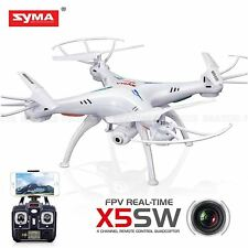 Syma X5SW dron 4 canales de video en tiempo real FPV Quadcopter Navidad Regalos-Blanco