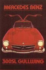 Mercedes-Benz 300 SL Gullwing. Out of Print and Hard to Find! Car Poster:>)