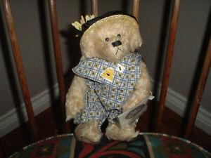 Ganz Cottage Collectibles Bianca Bear Limited Edition Artist Carol E. Kirby