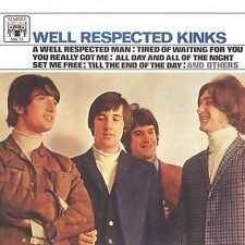 THE KINKS CD WELL RESPECTED RAY DAVE DAVIES