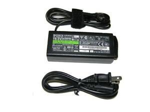 NEW Genuine Sony VAIO 65 Watt AC Adapter VGP-AC19V48
