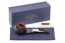 Savinelli Roma 623 Black Stem Tobacco Pipe