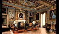 Cheverny France CPA ~1950/60 le Grand Salon du Château Inneres des Schlosses