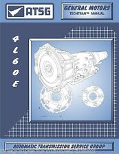 4L60E ATSG Rebuild Manual 4L65E Transmission Overhaul Service Book 4L70E 4L75E