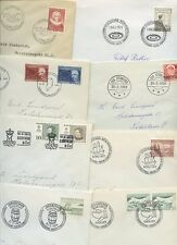 GREENLAND 1958-79 FIRST DAY COVERS...8 DIFFERENT