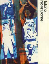 1971 Notre Dame v Tulane Football Program