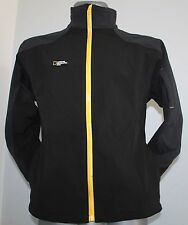Mens NATIONAL GEOGRAPHIC Nordic Jacket Soft Shell Black/Grey Poliester M VGC