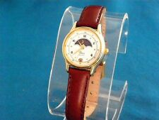 VINTAGE LADIES PETITE TIMEX MOON PHASE CALENDAR WATCH, A FUTURE TIMEX CLASSIC!