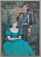 The Royal Wedding Official Souvenir, Prince Charles and Princess Diana 1981