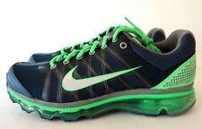 Nike Air Max 2009 Blu Grigio Verde Scarpe da Corsa Uomo !Raro! 486978 407 Sz 8