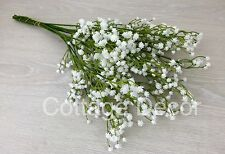 SALE 12 STEMS THE BEST ARTIFICIAL GYPSOPHILA BABY'S BREATH WEDDING REAL TOUCH