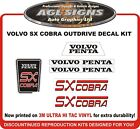 Volvo Penta SX COBRA  Outdrive Replacement Decal Kit    sterndrive