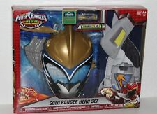 2016 Power Rangers Dino Super Charge Gold Ranger Hero Set