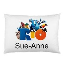RIO MOVIE CHARACTERS Personalized childrens kids BED pillow case