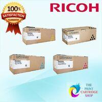 Lanier Ricoh Toner Set CYMK SPC310/C232 SPC231/SPC232SF/SPC242SF/SPC312DN/C310HS