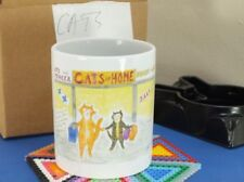 Cats Decorative Art Pottery