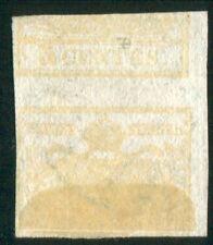 1851 ASI Lombardo Veneto 5 cent. controstampa capovolta usato spl