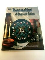 Rosemaling a Brush with Tradition Viking Folk Art Decorative Painting Book Tole