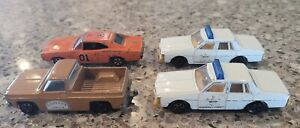 Dukes Of Hazard Vintage Lot Ertl 1981 Cars Cooter's Truck General Lee Sheriff
