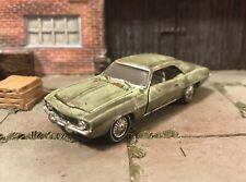 1969 Chevy Camaro Rusty Weathered Custom 1/64 Diecast Car Farm Barn Find Rust M2
