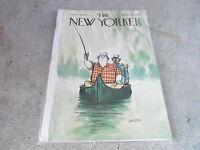 SEPT 14 1968  NEW YORKER magazine FISHING