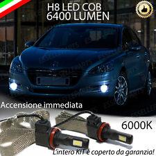 KIT FULL LED PEUGEOT 508 LAMPADE H8 FENDINEBBIA CANBUS 6400L 6000K