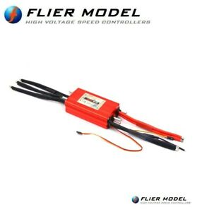 400A Boat Waterproof ESC 3-22S LiPo 90V Flier for Brushless Motors + USB LINK