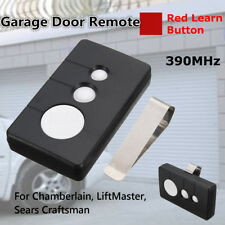 390MHz Garage Door Remote Opener For Sears Craftsman Chamberlain LiftMaster 3Btn