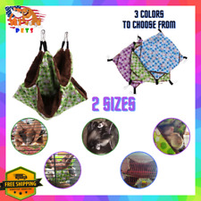 Hanging Cage Hammock Bird/Hamster/Ferret/Rat/C hinchilla/Squirrel Nest House Bed