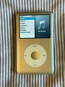 Apple iPod Classic 6th Generation 80 GB Silver A1238