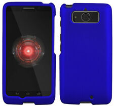 Azul de Goma Carcasa Funda Rígida Protex Funda para Motorola Droid Mini XT1030
