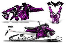 Polaris Pro RMK Rush Sled Decal Wrap Snowmobile Graphics Kit 2011-2014 HAVOC PNK