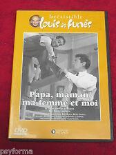 DVD Papa, Maman, ma Femme et Moi / Avec Louis De FUNES - F. LEDOUX / comme neuf