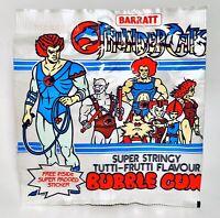 Vintage 1985 Barratt THUNDERCATS Bubble Gum Pouch Container candy TYGRA