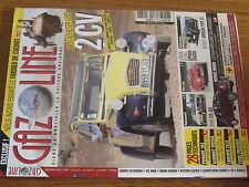 $$w Revue Gazoline N°166 Citroen 2 CV  Renault Colorale  VW Schwimmwagen  Dyna Z