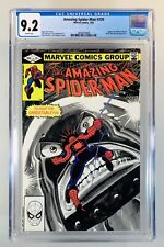 AMAZING SPIDER-MAN #230~Marvel, 7/82~Juggernaut & Madame Web appearance~CGC 9.2