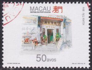 Specimen, Macao Sc781 Temple, Architecture, Kuan Tai