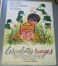 Affiche de cinéma : LES CULOTTES ROUGES de Alex JOFFE - BOURVIL
